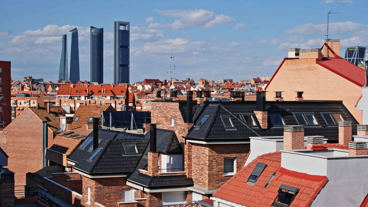 Las 4 torres de Madrid